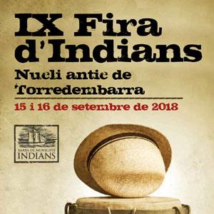 IX Fira dels Indians, Torredembarra, 2018