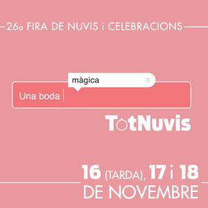 Tot Nuvis, Fira dels Nuvis i Celebracions, Fira Reus, 2018