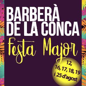 Festa Major de Barberà de la Conca, 2018