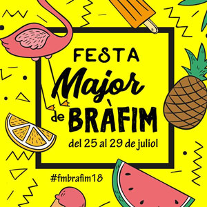 Festa Major de Bràfim, 2018