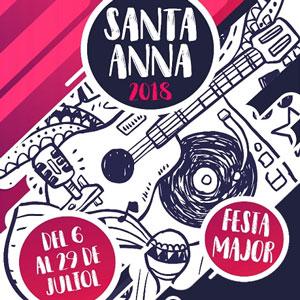 Festa Major de Santa Anna a Castellvell del Camp 2018