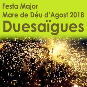 Festa Major de Duesaigües, 2018