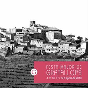 Festa Major de Gratallops, 2018
