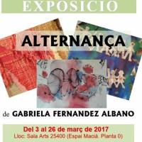 Exposició, art, tapisseria, Gabriela, Fernández Albano, Borges Blanques, Garrigues, març, 2017, Surtdecasa Ponent