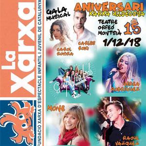 Gala musical 15è aniversari Xarxa Ulldecona 2018