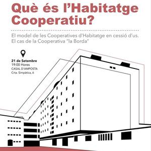 Xerrada 'Què és l'habitatge cooperatiu?' - Ateneu Cooperatiu Terres de l'Ebre 2018