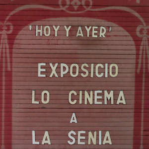 Exposició 'Lo cinema a La Sénia'