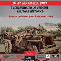I Concentració de Vehicles militars històrics - La Sénia 2017