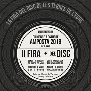 II Fira del Disc - Amposta 2018