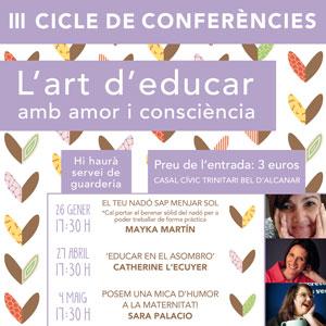 III Cicle de conferències 'L'art d'educar amb amor i consciència' - Alcanar 2019