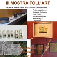 III Mostra Foll'Art - La Galera 2016