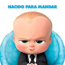 Cartell del film d'animació 'Bebé Jefazo'
