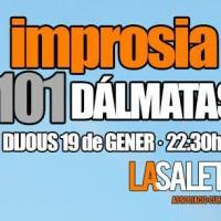 Teatre, Espectacle, La Saleta, Improsia, gener, 2017, Surtdecasa Ponent