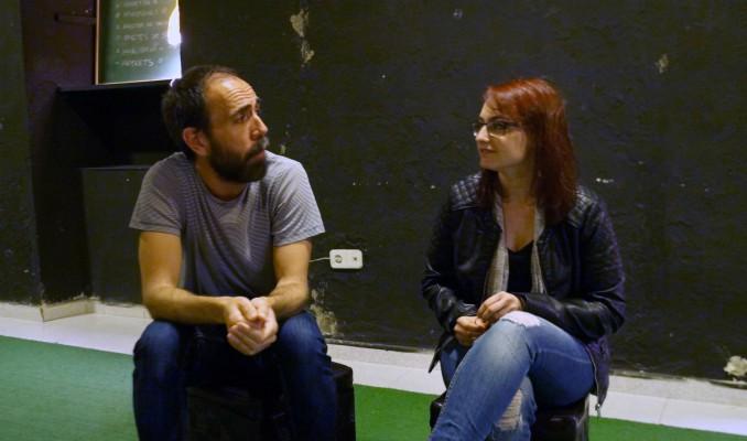 Improsia Teatre, entrevista, La Saleta, Anguera, Gómez, Lleida, Surtdecasa Ponent, maig, 2016