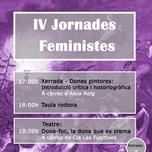 IV Jornades Feministes - La Sénia 2019