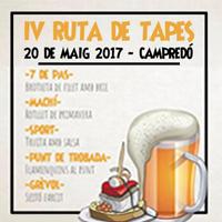 IV Ruta de Tapes - Campredó 2017