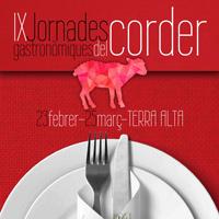 IX Jornades Gastronòmiques del corder - Terra Alta 2018