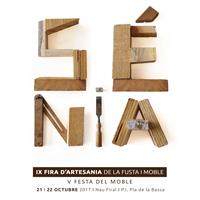 IX Fira d'Artesania de la Fusta i Moble - La Sénia 2017