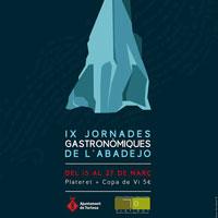 IX Jornades gastronòmiques de l'abadejo - Tortosa 2016