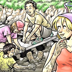 Visita dinamitzada: La Joana descobreix el Jaciment de la Daga