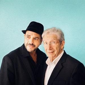 Joan Pera i Roger Pera en l'espectacle 'Papà Mozart'