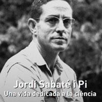 Exposició 'Jordi Sabater Pi. Una vida dedicada a la ciència'