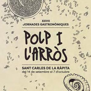 XXVII Jornades Gastronòmiques del Polp i l'Arròs - La Ràpita 2018