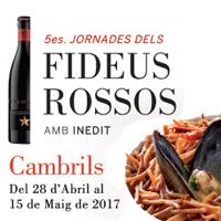 5es Jornades dels Fideus Rossos - Cambrils 2017