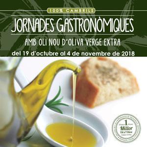 Jornades gastronòmiques amb oli nou d'oliva verge extra, Cambrils, 2018