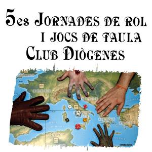 5es Jornades de Rol i Jocs de Taula del Club Diògenes