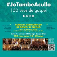 Concert multitudinari de gospel #Jotambéacullo - El Perelló 2018