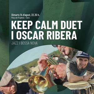 Concert de Keep Calm Duet i Oscar Ribera, Festival Roca Foradada, 2018