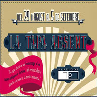 La Tapa Absent - Tortosa Platigot 2016