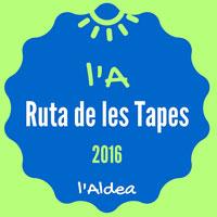 L'A. Ruta de les tapes - L'Aldea 2016