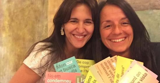 Espectacle 'Dunes', amb Montse Castellà i Laura Borràs
