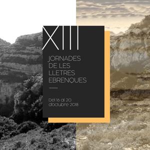 XIII Jornades de les Lletres Ebrenques - Amposta 2018