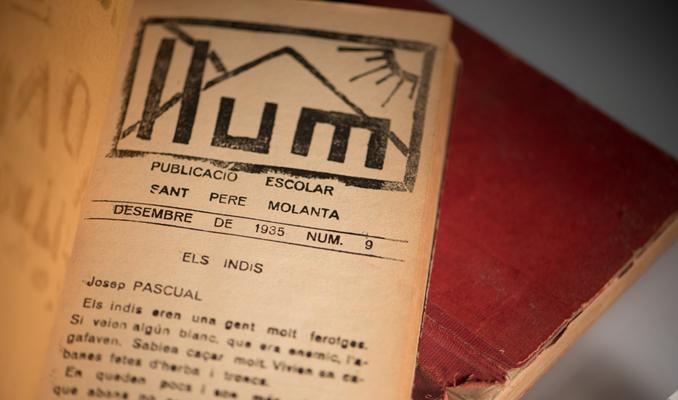 Els Quaderns Llum de Sant Pere Molanta