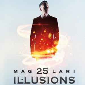 Mag Lari, 25 Il·lusions, espectacle màgia, 2018