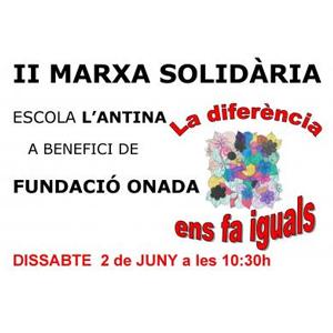 Marxa solidària 'La diferència ens fa iguals'
