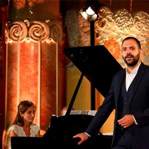 Concert d'Eduard Mas i Marta Puig