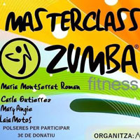 Masterclass de zumba - Móra la Nova 2016