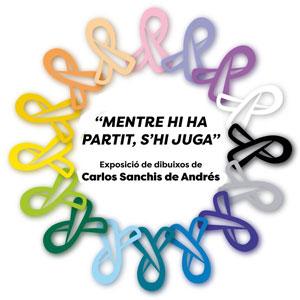 Exposició 'Mentre hi ha partit, s'hi juga' de Carlos Sanchis de Andrés - La Ràpita 2018