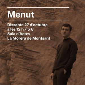 Concert de Menut al Festival Terrer 2018