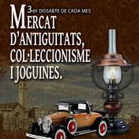 Mercat d'Antiguitats, col·leccionisme i joguines - Tortosa 2017