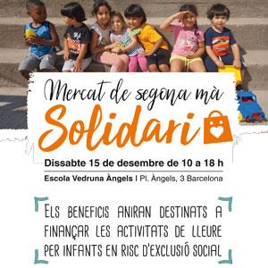 Mercat de segona mà solidari - Fundació Pere Tarrés Barcelona 2018