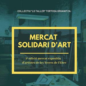 Mercat solidari d'art - Tortosa 2018