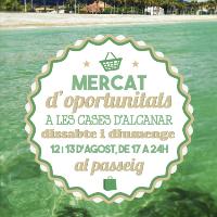 Mercat d'oportunitats d'Alcanar - agost 2017