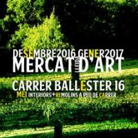 mercat d'art, Lleida, MEI, desembre, Surtdecasa Ponent