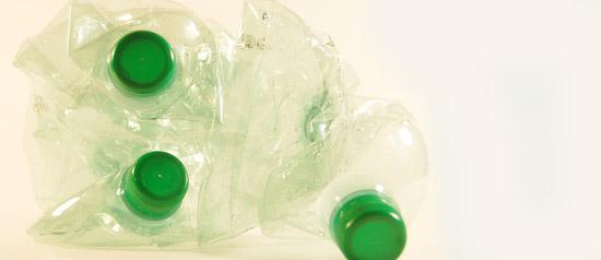 Botelles de plàstic