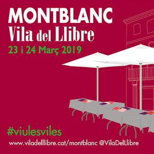 Montblanc, Vila del llibre, 2019